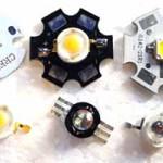 Мощные светодиоды 1W