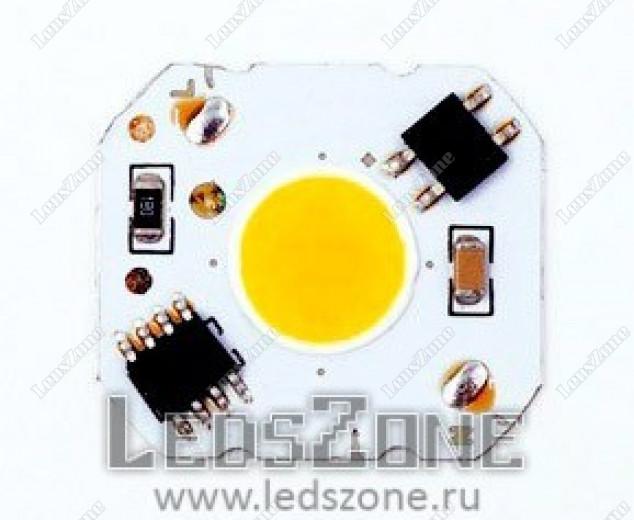 Светодиодная матрица 5W 220v