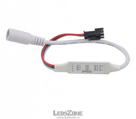 SP002E мини контроллер с DC Female к адресной ленте WS2812B