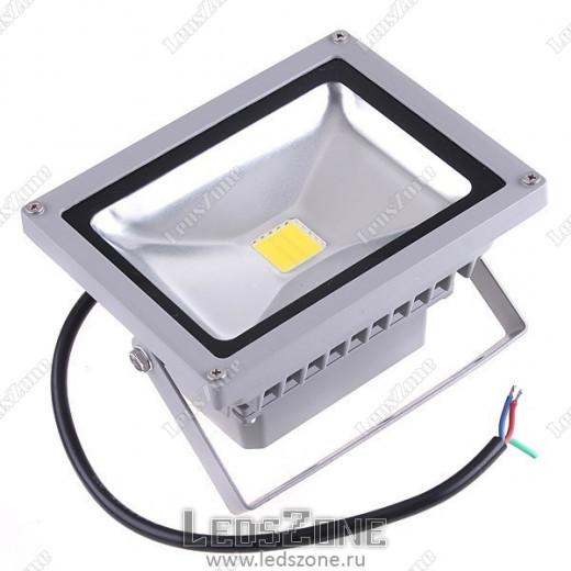 Светодиодный прожектор 20W 6000K