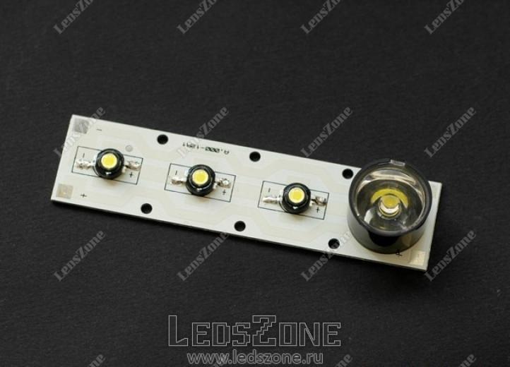 Плата для мощных светодиодов 4х1