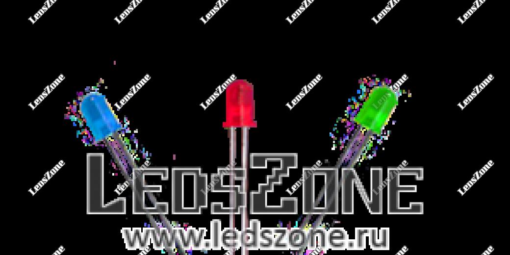 Светодиоды 3мм мигающие (цветная матовая линза)