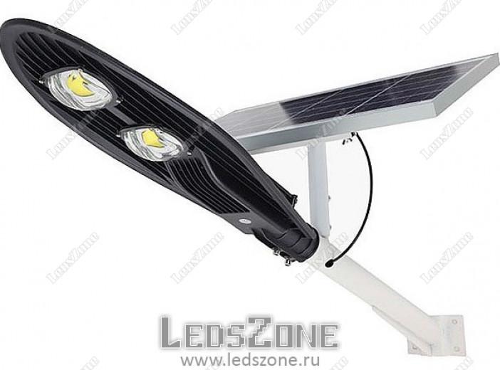 LED прожектор COBRA 60W на солнечной батарее
