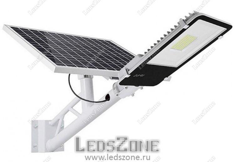 LED прожектор 50W на солнечной батарее