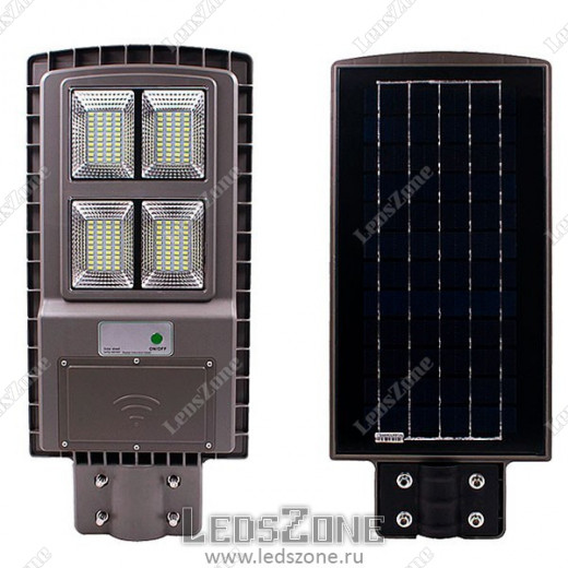 LED прожектор 60W на солнечной батарее