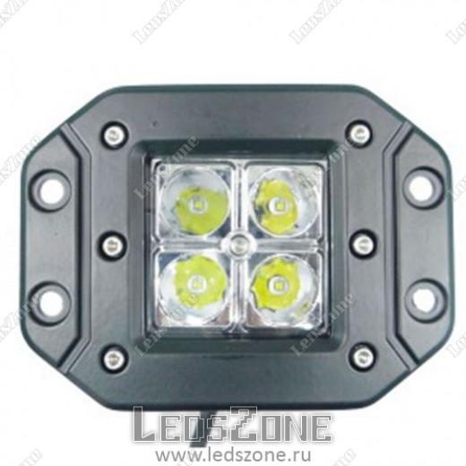 LED Прожектор 12W Cree (встраиваемый)