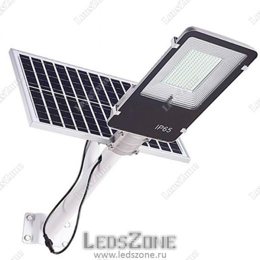 LED прожектор 100W на солнечной батарее