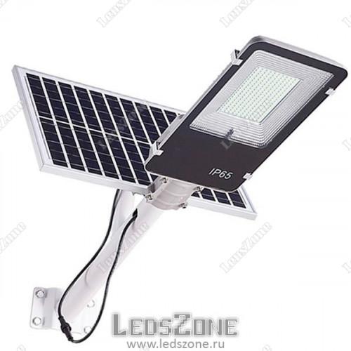 LED прожектор 150W на солнечной батарее