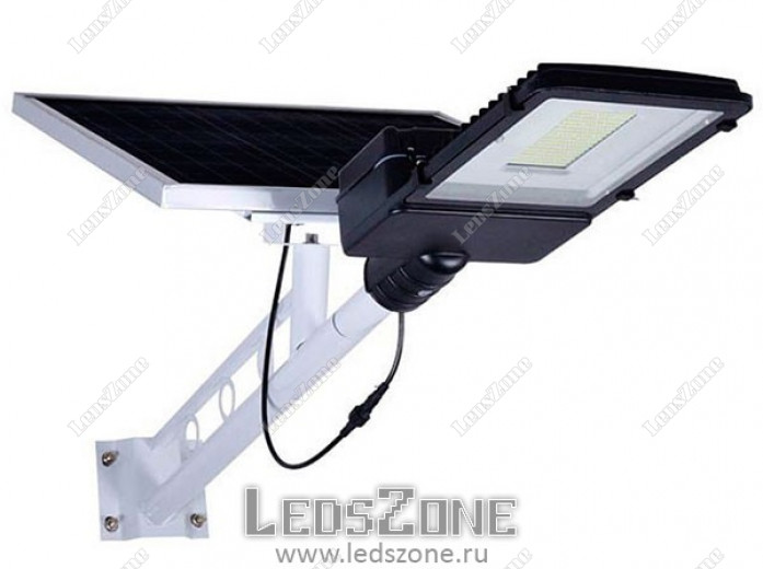 LED (King-boх) прожектор 200W на солнечной батарее