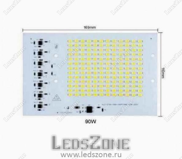 SMD модуль для прожектора 90W