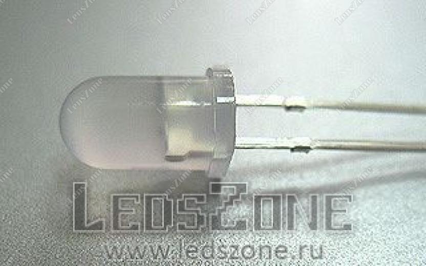 Светодиоды 5мм двухцветные (белая матовая линза)